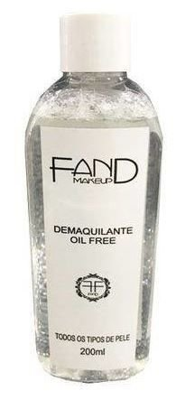 DEMAQUILANTE OIL FREE - FAND 200 ML