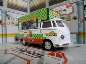 Miniatura Kombi Food Truck Churros