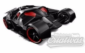 Dark Knight Batmoblie Hot Wheels escala 1/64