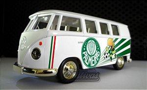 Miniatura Kombi Palmeiras Branca
