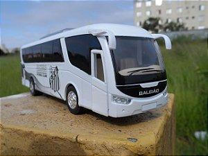 Ônibus Do Santos FC Time de Futebol (em metal)
