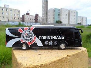 Ônibus Do Corinthians Time de Futebol (em metal)