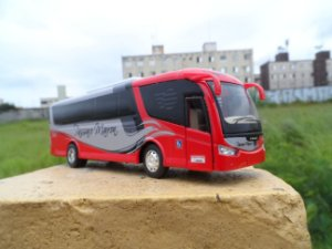 Ônibus Rodoviário Pássaro Marron