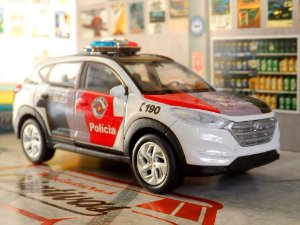Oferta - miniatura Tucson Pmesp Polícia Militar - Em Metal