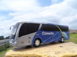 Oferta - miniatura Ônibus Cometa Em Metal