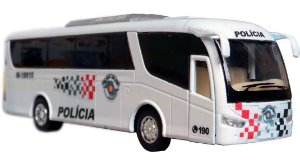 Oferta - miniatura Ônibus Polícia Militar Pm Sp - Atual