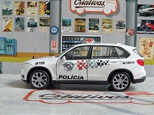 Oferta - miniatura Bmw X5 Polícia Militar Pm Sp Atual