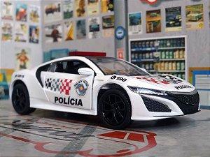 Oferta - miniatura Honda Nsx Polícia Militar Pm Sp - Atual