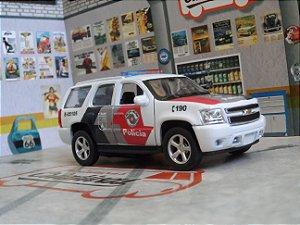 Oferta - miniatura Chevrolet Tahoe Polícia Militar Pm Sp - CORAL