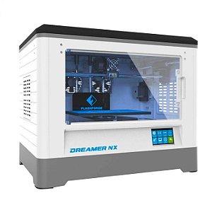 IMPRESSORA 3D DREAMER NX - 230X150X140MM - 1 EXTRUSORA - PLATAFORMA AQUECIDA - WIFI - CÂMARA FECHADA