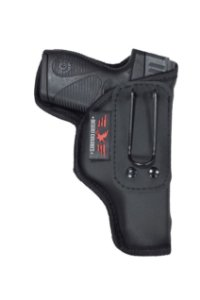 Coldre Para Pistola PT 740 SLIM Porte Velado em Neoprene e Couro P.U (Paisana)