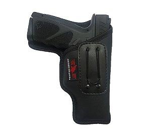 Coldre Velado Pistola Para Pistola Taurus Striker TS9 ( Sem Aba)
