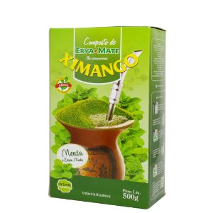 Erva mate Ximango menta