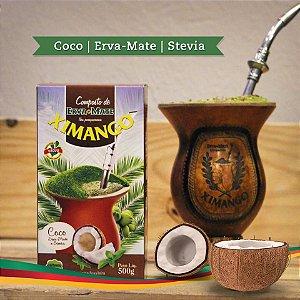 Erva mate Ximango Côco e Stevia
