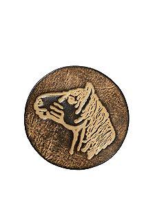 Cevador em couro Cavalo