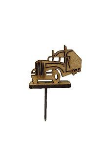 Enfeite de madeira Caminhão