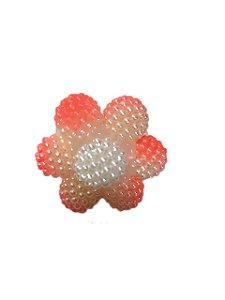 Enfeite de chimarrão flor rosada