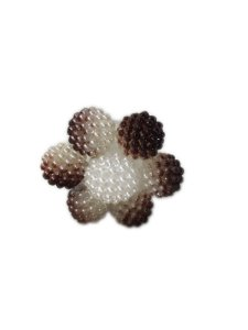 Enfeite de chimarrão flor marrom