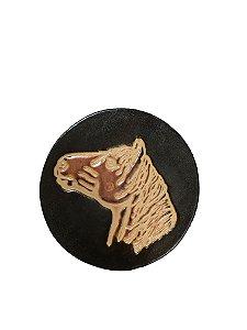 Cevador couro cavalo escuro
