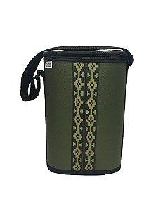 Mateira Nylon 1 Litro Verde faixa pampa