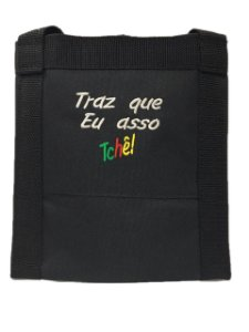 Porta espeto de Nylon Impermeável preto