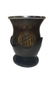 Cuia personalizada Uruguaia bocal inox