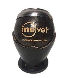 Cuia personalizada Uruguaia coquinho bocal inox