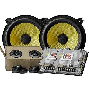 Falante Kit 2 Vias Nar Audio Cs3-525 5 Polegadas 120rms Som