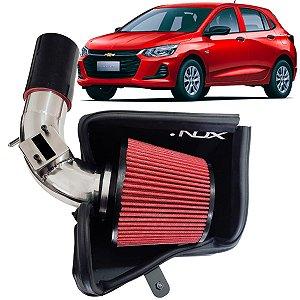 Kit Intake Nox + Filtro De Ar Esportivo Onix Turbo 1.0