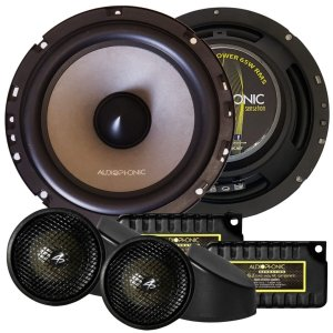 Kit 2 Vias Falante Audiophonic Sensation 130w Rms 6 polegadas KS 6.2 Som Automotivo