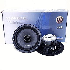 Kit Coaxial Falante Audiophonic Club 6 Polegadas 150w Rms CB650 V3