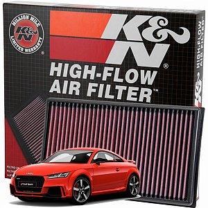 Filtro De Ar Esportivo K&n Inbox Original Audi TTS 8S 2.0 TFSI MK3 230cv DE 2015 Em Diante