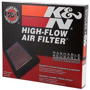 Filtro De Ar Esportivo K&n 33-5000 Fusion Ecoboost 2.0 13 A 19 Fusion 2.5 flex