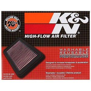 Filtro De Ar Esportivo K&n Original Cobalt Motor 1.4 e 1.8/ Joy e Joy Plus Motor 1.0