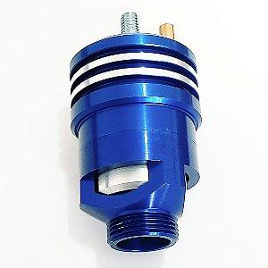 Valvula Prioridade Espirro Turbo Aluminio Alta Vazão Azul