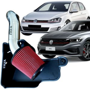 Kit Intake Nox Filtro De Ar Esportivo Jetta Gli Golf Gti Mk7