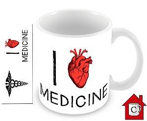 I LOVE MEDICINE (PERSONALIZE COM SEU NOME)