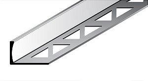 Perfil Reto em Alumínio de espessura de 12,5 mm com acabamento natural.