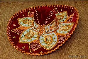 Chapéu Mexicano - Original - Vermelho