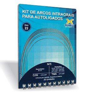 Kit de Arcos Intraorais para Autoligado Morelli