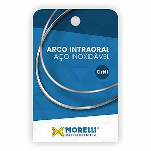 Arco Intraoral Superior Aço CrNi Quadrado Morelli
