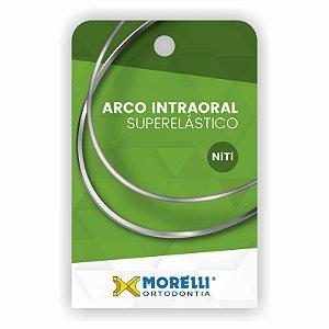 Arco Intraoral Superelástico Médio NiTi Quadrado Morelli