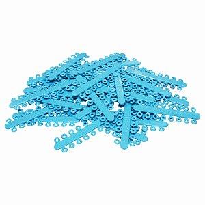 """Elástico Separador Modular Azul Claro Ø 5/32"""" Morelli"""