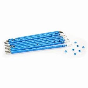 Elástico Ligadura Bengalinha Azul Morelli
