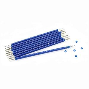 Elástico Ligadura Bengalinha Azul Cristal Morelli