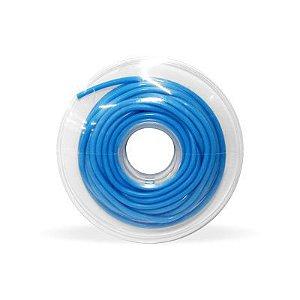 Tubo de proteção plástico Azul Ø0,75mm Morelli