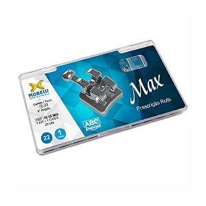 """Kit de Bráquetes Prescrição Roth - Max .022"""" - Can. 9° Ang. Morelli"""