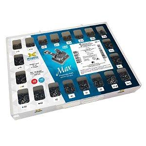 """Kit de Bráquetes Prescrição Roth - Max .022"""" - 100 Casos - Can. 13° Ang. Morelli"""