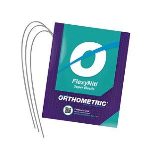 Arco Flexy NiTi Superelástico Inferior Quadrado  Orthometric