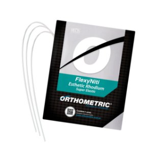 Arco Flexy Niti Esthetic Rhodium Superior Quadrado Orthometric